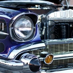 Chrome trim classic retro