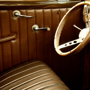 vintage interior upholstery